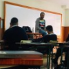 VISITA DEL NOVELISTA NANDO LOPEZ A NUESTRO CENTRO